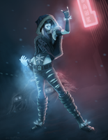 Cube Brush Challenge - Jacqueline Frost by RiptideX1090