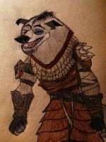Boss Wolf Kung Fu panda by darkenmind66