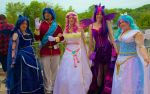 My Little Pony Royal Cosplay Group by GrumpyCosplay