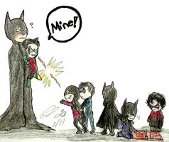 Batman: The family can't share by Lizzy-C-Sarai