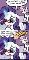 IF I SEE THAT SWEETIEBELLE ONE MORE TIME by WolverFox