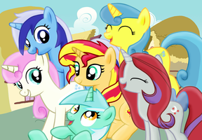 Mane 6 -second version by Fluttershy626