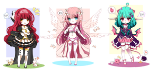 Random Adopts- CLOSED by Ayuki-Shura-Nyan