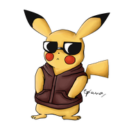 Pika power-too cool for you by Aparnahegde