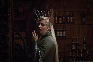 Thranduil cosplay. Dorvinion [Bonus] by the-ALEF