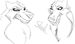 Steele - Practice Sketches by SomeoneImSure