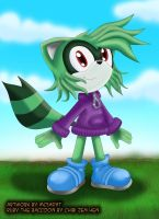 .:gift:. Ruby the Raccoon by McSadat