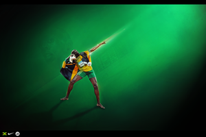 Usian Bolt by a2iFolio
