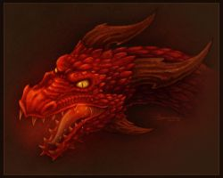 Red Dragon by BrentonWright