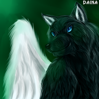 Winged wolf by TigresaDaina