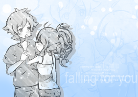 Falling for you by Imouto-Thi