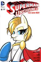 POWER GIRL (MLP Style) by paradox-a-go-go