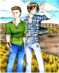 SPN: Brothers At Peace by xPrincessSakurax