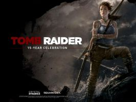 Tomb Raider 15 Years Anniv by andyparkart