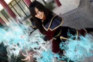 Azula Cosplay - The Brightest Flame by Aicosu