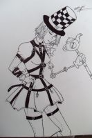 Alice the Hatter by Grim-Heaper