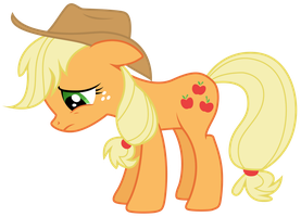 Applejack - Never Good Enough To Be Accepted by TomFraggle