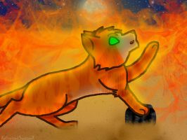 Firestar 2015 by ScatteredEmbers