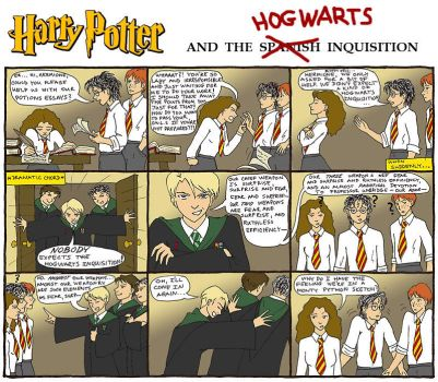 Harry Potter Comic 1 by Mar17swgirl