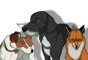 The Plague Dogs - FA by Mirg-Marie