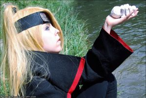 Art: Deidara cosplay by AkaneHiro