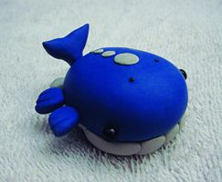 Wailord Pokedoll Sculpture by caffwin