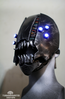 Dr. Piranha - rogue cyberpunk mask by TwoHornsUnited