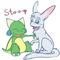 Aw, stop, enough by Bestary