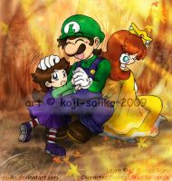 Mario: Autumn's Comfort by saiiko