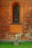 Tombstone Window I by Photopathica