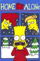 Simpsons Home Alone by DJgames