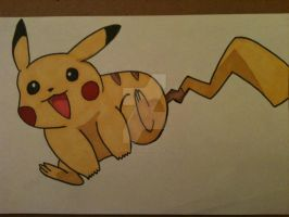 Just a Pikachu... by AlPendragon