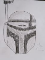 Mando Helmet Concept by DarthDizzle