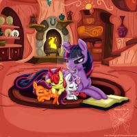 Spending Time With Twilight by ShimmyCocoPuffssX1