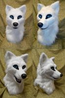 Nagi Wolf Head by temperance