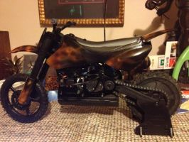 Airbrushed Rc motocross bike by Silverwolf1969