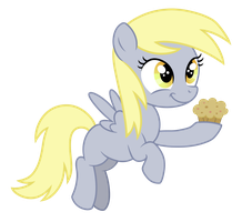 Filly Derpy by VanilleCream