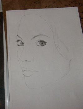 Angelina jolie sketch by norn92