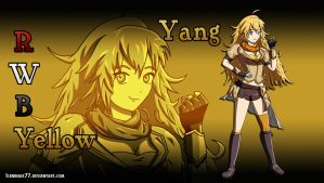 RWBY - Yang (Yellow) by IceNinjaX77