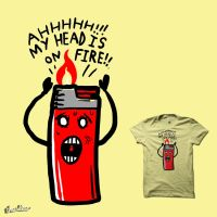 My head is on fire by biotwist