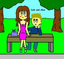 Jack and Alice - First official date by TheAdamBryant