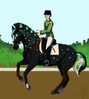 Naevia Dressage by SpecklArt