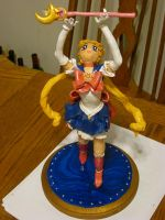 Sailor Moon OOAK Hand Sculpted Art Doll (5/5 photo by LilyintheSand