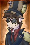 Steampunk Andrew. by Mental-D-Andrew