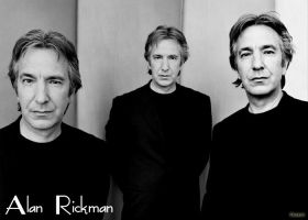 Alan Rickman, mon amour by CharlieSnape