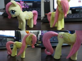 Clay Fluttershy by Manden
