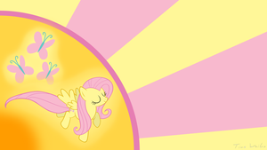 Fluttershy Wallpaper by Ackdari