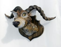 Taxidermy Funklehorn by thebiscuitboy