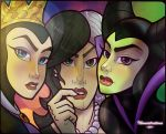 Younger Disney Villains by anubis2kx