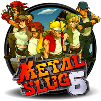 Metal Slug 6 game icon by 19Sandman91